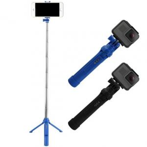 China 3 in 1 Handheld Bluetooth Selfie Stick GoPro Tripod Monopod For iPhone 7 6 Plus Sumsang S8 Android Phone With Remoter on sale