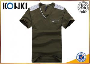 China Красивые люди замыкают накоротко рукав в - полиграфический бизнес футболок шеи on sale