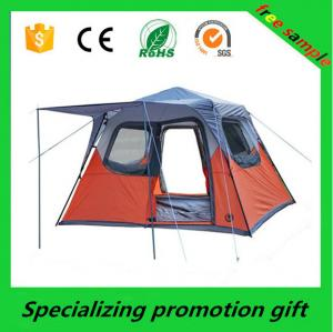 China Polyester Canvas Folding Outdoor Camping Tent , Waterproof Inflatable Family Tent on sale