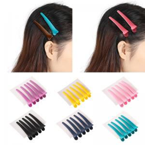 China Fashionable Hair Coloring Accessories Colorful Duck Mouth Hair Clip For Salon / Home on sale