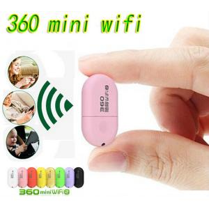 China 360 Free Pocket WiFi Router 360 Portable USB WiFi Router Available for Computer Laptop Tablet PC on sale