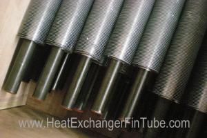 China Bi-metal refrigeration Extruded Fin Tube ,  A210 Gr A1 / C SMLS carbon Tubing on sale