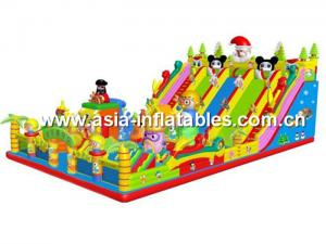 China Outdoor Inflatable Play Ground, Inflatable Children Amusement Games on sale