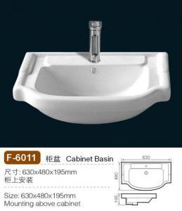 China Newstar Bathroom Sink,ceramic china sink on sale