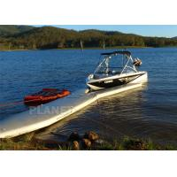 China 8m Long Inflatable Boat Air Dock Platform For Jet Ski Parking on sale