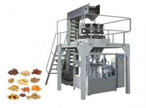 China Zipper Stand Up Pouch Packaging Machinery , Automatic Biscuit Packing Machine on sale