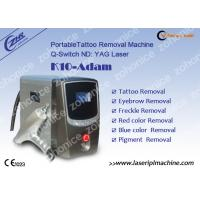 1Hz - 6Hz Laser Tattoo Removal Machine Q-Switched Nd Yag With CE Approved