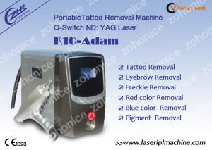 China 1064nm / 532nm Laser Tattoo Removal Machine For Eyebrow / Speckle Removal supplier