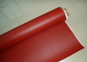 China Tissu enduit de silicone latéral simple de fibre de verre d'isolation électrique épaisseur de 0,25 - de 0.8mm on sale