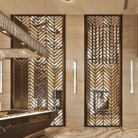 China Gold Stainless Steel Room Divider For Sunshades/Louver/Window Screen on sale