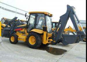 China Middle Tractor Backhoe Loader  With 60KW Power 1.2m3 Loading Capacity  XT860 on sale