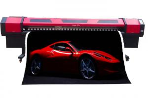 China 10FT Banners Sticker Photo Wide Format Color Printer For Wrapping Car , CE / ISO on sale
