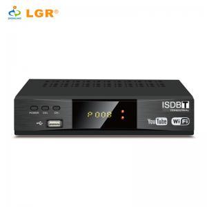 China 2018 Full HD ISDB-T /ISDB T Set Top Box Digital TV Receiver for Brazil on sale