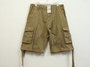 China short, mens short in 100% cotton, fishing short, casual short, khaki color, S-3XL supplier