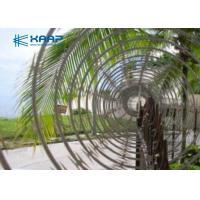 China Electro Galvanized Core Razor Barbed Wire , Razor Blade Fencing Wire 12mm Length on sale