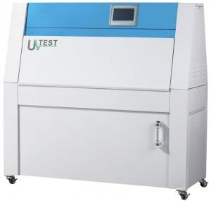 China Multi Standard Meeting Environmental Test Chamber , UV Aging Test Chamber With Locked Wheels on sale