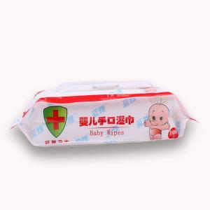 China Spunlace Non Woven Organic Baby Wet Wipes Manufacture on sale