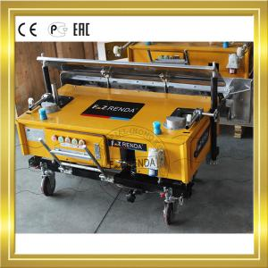 China Patent Cement Render Machine With Gear Rack Driving System Length 1200mm on sale