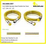 Tuyau flexible 1/2» FF/FM du gaz En14800