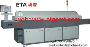 China lead-free medium reflow oven on sale