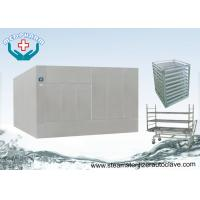 Large Steam Sterilizer Double Door Autoclave Reducing Microorganism To 7 Logs