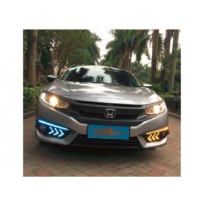 China Honda CIVIC DRL 2X LED Driving Daytime Running Lights DRL Fog Lamp For Honda CIVIC  2016-2018 on sale