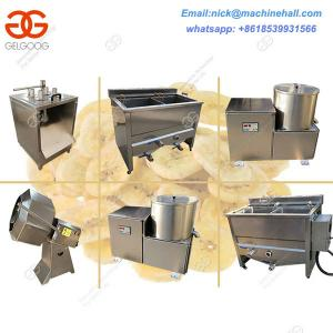China Best Plantain Chips Frying Line|Plantain Chips Processing Line with High Quality|Plantain Chips Making Machine Suppliers on sale