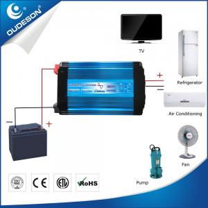 China Low cost blue aluminum off grid dc ac 3000w single phase power inverter for home on sale