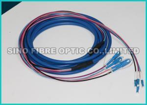 Quality la correction optique de fibre de la veste bleue ODC de 7.0mm câble 2 noyaux for sale