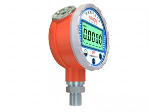 China 5 Digits LCD Display 0.05% High Accuracy Digital Pressure Gauge For Oil Gas Field Measurement on sale