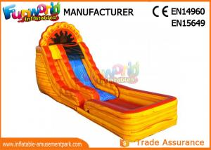 Quality Clearance Size Giant Inflatable Water Slide For Amut Park