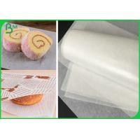 Jumbo Roll 30 / 35 / 40 / 45 / 50GSM Bleached MG White Paper For Sandwiches Packaging
