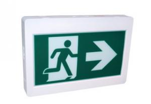 China Running man plastic housing emergency exit lights applied in corridor exit on sale