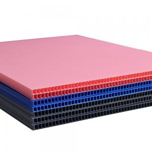 China Factory Custom Recycled PP Corrugated Plastic Sheets 4x8 Lowes on sale