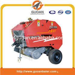 China prensa redonda del heno de la mini paja con el tractor on sale