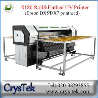 roll to roll and flatbed uv digital printer, white ink printing for wood glass ceramic printing