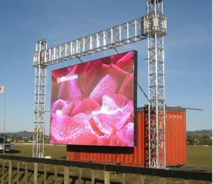China Stage Events Outdoor Full Color Led Display P4.81- P8 Die Casting Aluminum Cabinet on sale