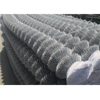 China Galvanised Chain Link Fence Privacy Screen Fabric Rolls 900MM X 50MM X 2.5MMx25M on sale