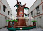 Commercial Grade Inflatable Rock Climbing Games With PVC Tarpaulin