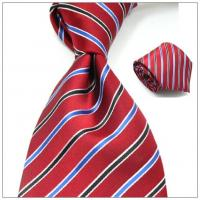 China silk woven tie polyester tie fashion tie new design bowtie waistcoat on sale