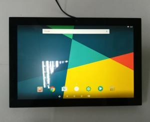China 10 inch Android 6.0 tablet with wifi, bluetooth, camera, POE, LED bar Wall Mounting on sale