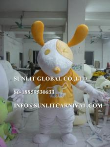 China pet dog mascot costume, advertising dog mascot costume on sale