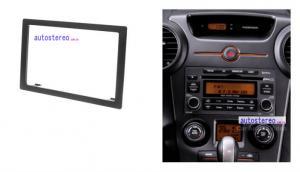 China L'autoradio installent le panneau de fasce de kit pour l'installation d'équilibre de plat de Faica de rondeau de Kia Carens on sale