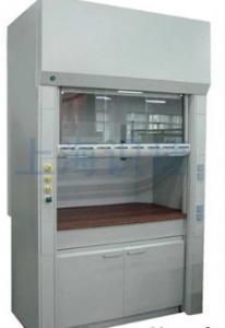 China Steel Laboratory Fume Hood Fume Extraction System 0.07~0.09mm Epoxy Resin Coating on sale