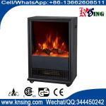 SF-1319 Electric stove fireplace movable burning log LED flame www.knsing.com