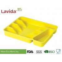 Solid color Food Grade Durable Biodegradable Bamboo Fiber Tray Flatware Tray Melamine Fork Knife Spoon Chopstick case