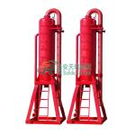 High Quality Mud Gas Separator in Oilfield Well Drilling Mud System , API Standard Drilling Mud Gas Separator