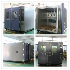 China Air Cooling Type Medicine Acceleration Life Time Walk-in Test Room Climate Chamber on sale