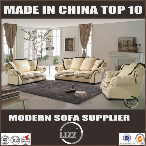 Living Room Leather Sofa From Lizz