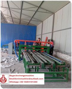 China Magnesium Oxide Production Polyurethane Sandwich Panel Machine / Board Making Machine on sale
